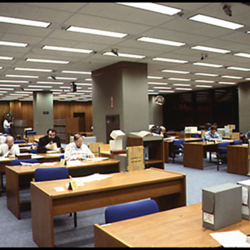 Microform Reading Room, Library of Congress