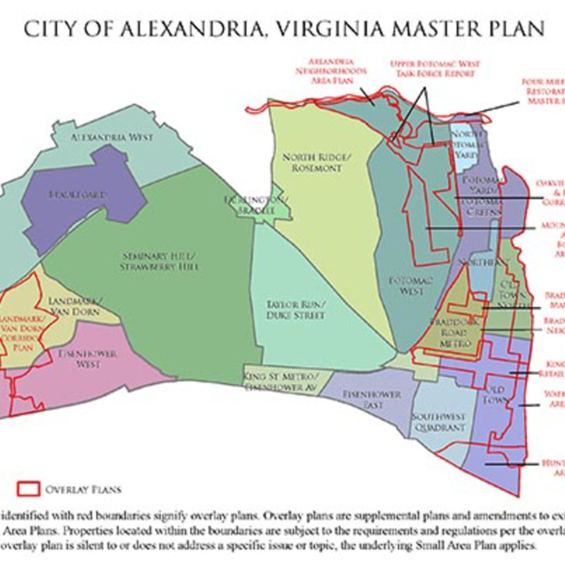 Planning & Zoning Department, City of Alexandria