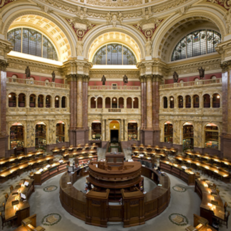 Main Reading Room, Library of Congress