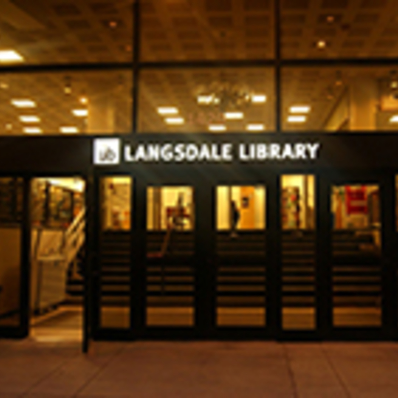 Special Collections, Langsdale Library, University of Baltimore